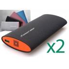 2 внешних аккумулятора Smartbird Q150 (15600mAh) + 2 зарядных устройства